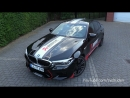 BMW M5 F90 With Akrapovic Exhaust LOUD Revs SOUNDS !