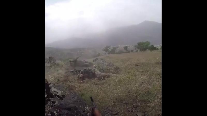 Спецназовцы попали в засаду и были уничтожены
