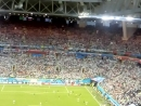 трибуны, последние минуты матча Аргентина Нигерия
