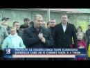 PROTESTE LA CEADÎR LUNGA DUPĂ ELIBERAREA ȘOFERULUI CARE AR FI CURMAT VIAȚA A 4 TINERI