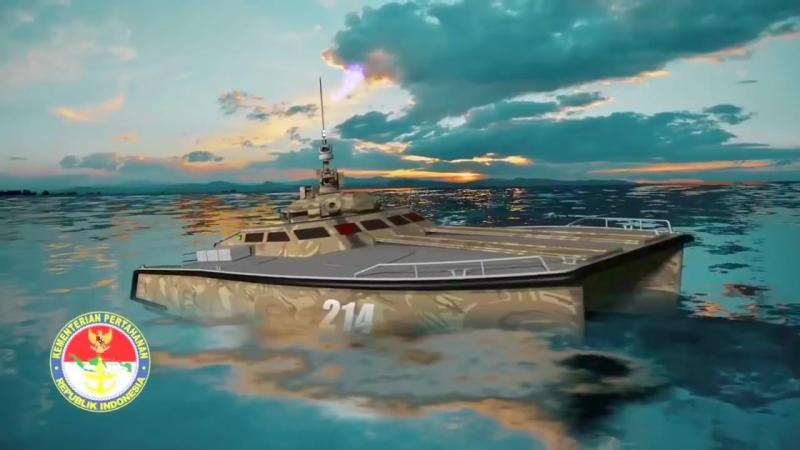 CMI Defence PT Pindad - Indonesia X18 105mm Tank Boat Simulation