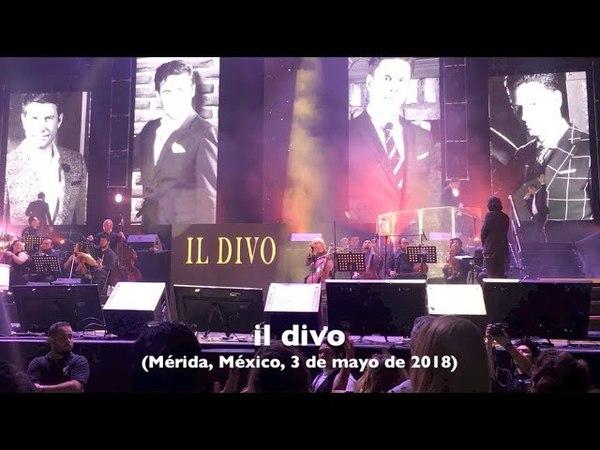 Concierto de Il Divo en Mérida
