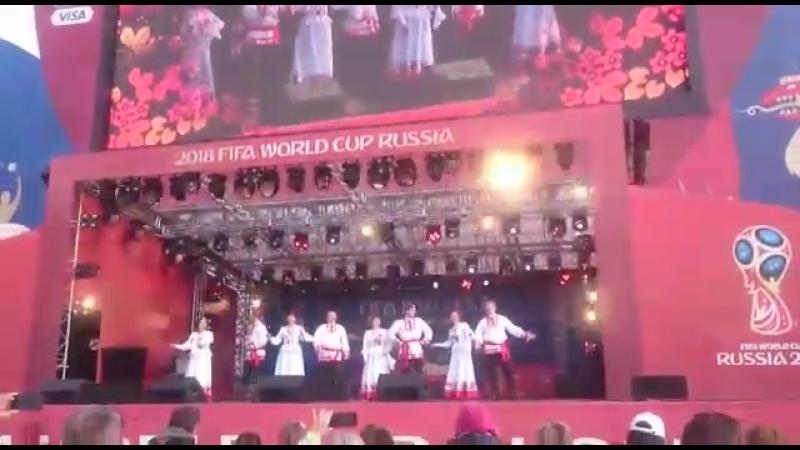 концертная программа в рамках Чемпионата мира по футболу FIFA-2018