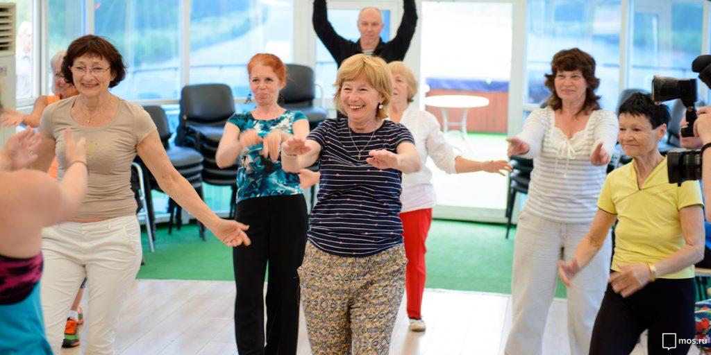 Пенсионеры из Алексеевского приняли участие в торжественном открытии программы «Московское долголетие»