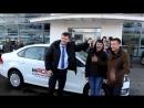 Получение авто VW Polo Танечкой и Ильгизом Авзаловыми
