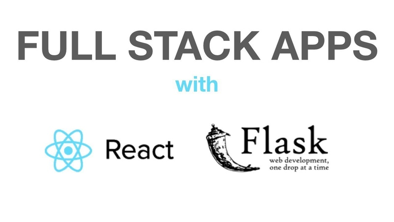 Build MVP With Python Flask and ReactJS