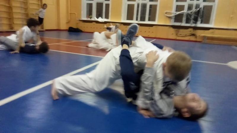 СФП 22 Упражнение Сумчатые После УТС по Кумите Чемпиона Европы, Японии, России Алексея Горохова