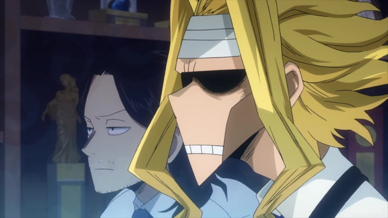 Моя Геройская Академия ТВ-3 - 12 серия [Озвучка: Kobayashi NAZEL (AniMedia)]