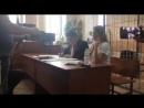 Борюсь с произволом и с тем что Россия для грустных участница Pussy Riot дает интервью перед началом судебного заседания