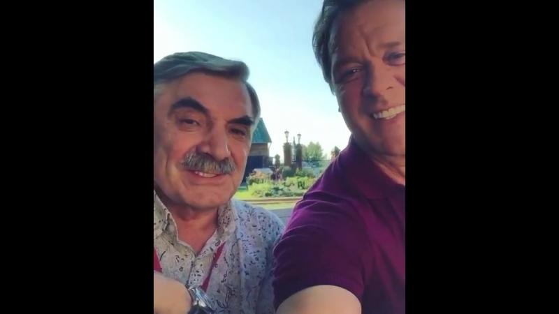 Сергей Любавин и Александр Панкратов-Чёрный