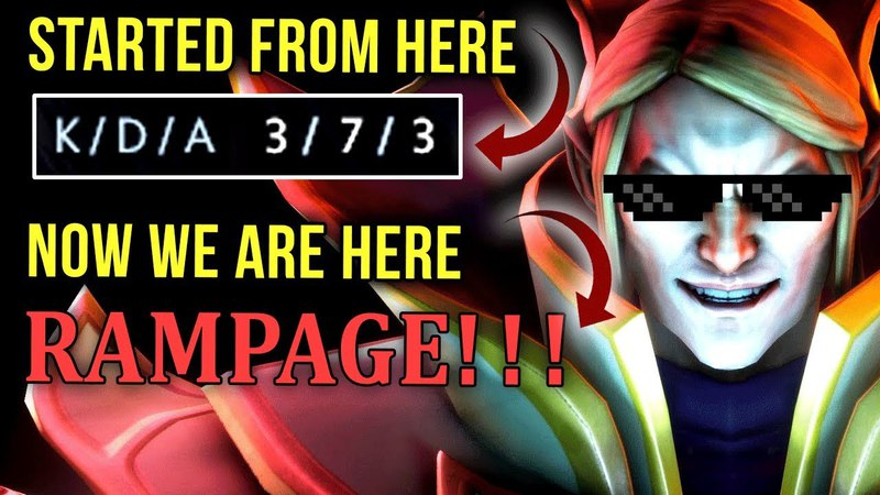 INSANE COMEBACK! From FEEDING-Mode into GOD-Mode! EPIC Ana Invoker Gameplay - Rampage Dota 2