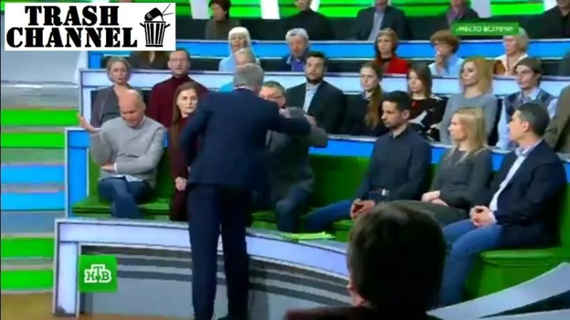 Драка Суворова с пропагондоном на НТВ