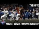 Denver Broncos - Cleveland Browns - 1986 AFC Championship