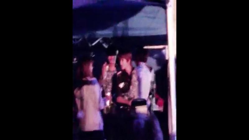 Backstage myungjong