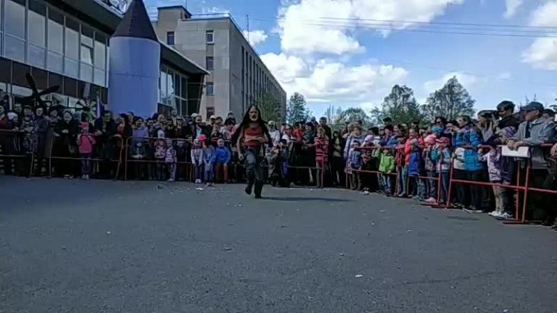 Клоун LOCO BRUSCA (Аргентина). Апатиты. День химика