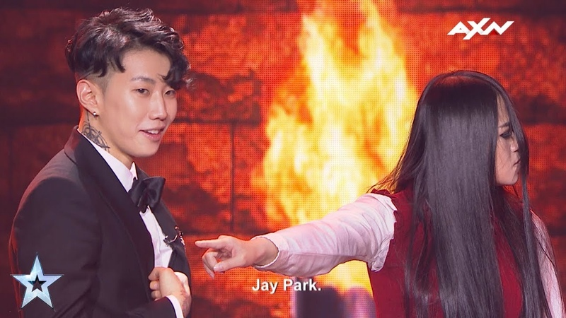 The Sacred Riana Spooked Jay Park - Results Show | Asias Got Talent 2017