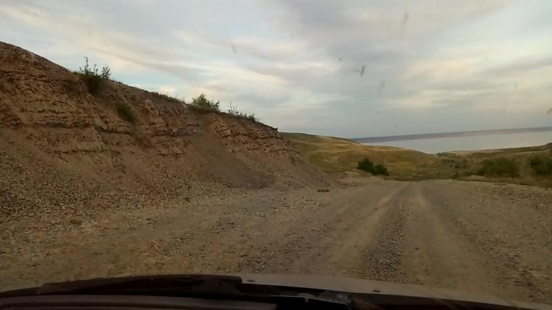 Дорога в с.Белогорское к Утесу Степана Разина