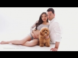 Beautiful Pregnancy Couple photographed by Ana Brandt