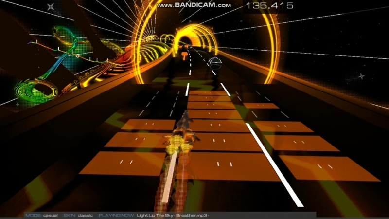 Audiosurf 2 | Light Up The Sky - Breather [720P 60 FPS]
