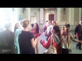Русские народные песни в ВЕНЕ!!!) ГНЕСИНКА РУЛИТ!!!