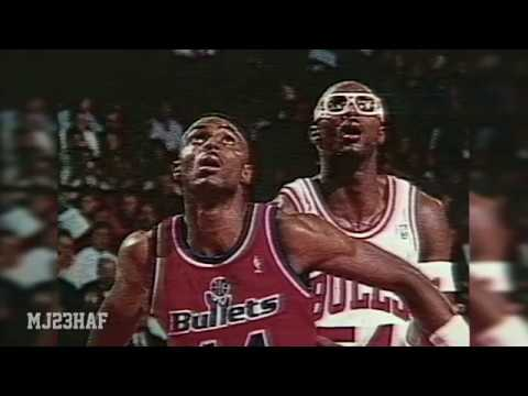 Horace Grant Discuss about His Brother Pre-Game Interview (1991.12.14)