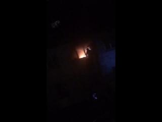 Пожар в квартире на Шавырина 16. Ярославль. 09.04.2018