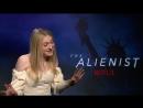 The Alienist_ Dakota Fanning plays HILARIOUS Luke Evans themed game