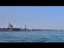 Timelapse. Бухта Сан Марко, Венеция, Италия. The bay of San Marco, Venice, Italy