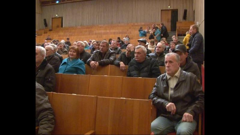 В ДК «Протон» состоялась встреча работников следственного комитета с сотрудниками двух городских предприятий: УС 620 иТО-40.