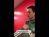 Nemanja Matic post-training interview