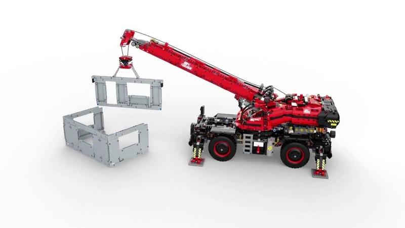 LEGO 42082 Rough Terrain Crane 360 Summer set 2018