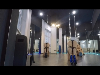PD EXO в MOON pole dance studio _ BABYLON