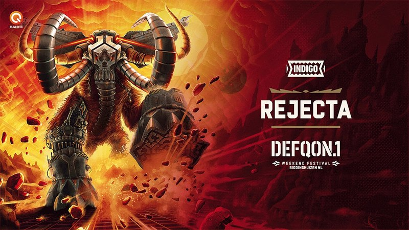 The Colors of Defqon.1 2018 | INDIGO mix by Rejecta