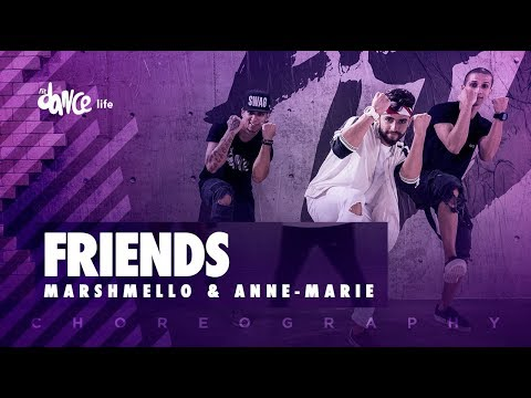 Friends - Marshmello Anne-Marie | FitDance Life (Choreography) Dance Video
