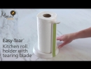 Joseph Joseph Easy-Tear™ - Kitchen roll holder with tearin