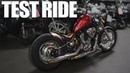 Honda Shadow Bobber Build - TEST RIDE! | Ep. 4