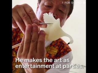 Японские сладости - новый вид искусства (6 sec)