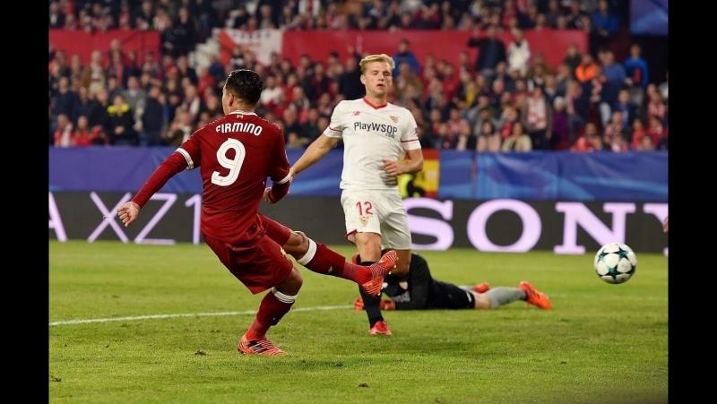 В ЛигаЧемпионов вчера был очень результативный вечер но самый невероятный матч выдали соперники Спартака СевильяЛиверпуль