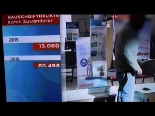 Anstieg der Drogenkriminalität durch Zuwanderer- Asylanten