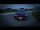 Tesla Model X CRAZY LIGHTSHOW Must see Full HD