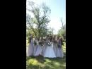 Акейша с подружками невесты 😍👰