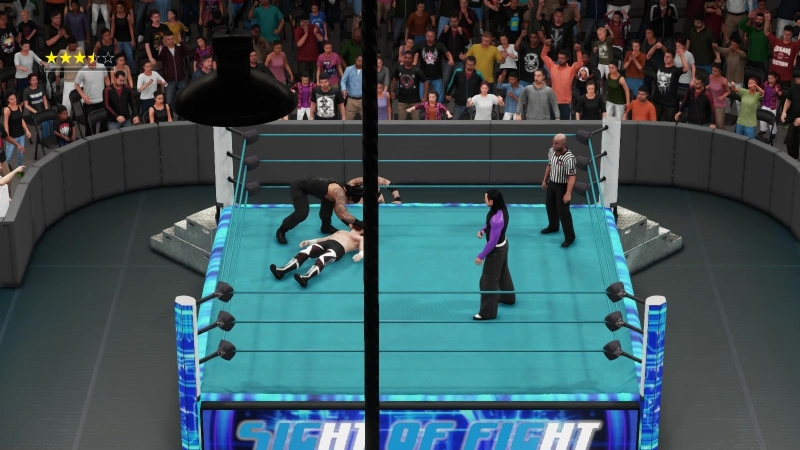 ||WW|| Roman Reigns vs Jeff Hardy vs Sami Zayn vs Aleister Black (SOF)