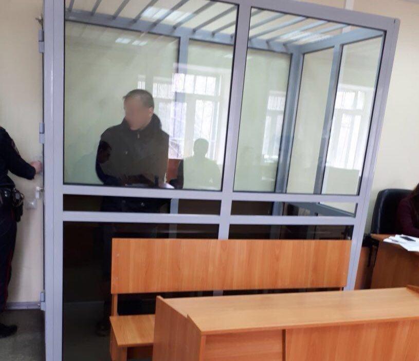 Подозреваемого заключили под стражу на два месяца