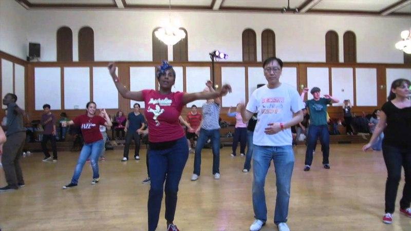 Lindy Hop Workshop-Fun Routine