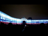 Фестиваль света на Дворцовой, в честь столетия революции 1917 года!