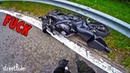 СНОВА РАЗЛОЖИЛСЯ НА МОТОЦИКЛЕ Авария на Honda Fireblade