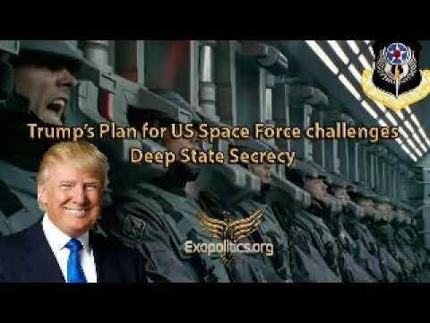 Майкл Салла - План Трампа для космических сил США бросает вызов секретности Глубинного государства
