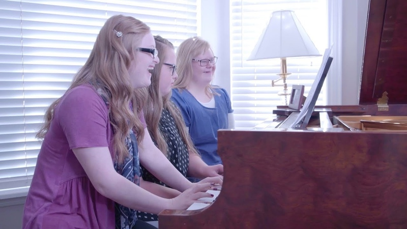 How Far I'll Go (Moana) - Special Piano Trio for Down Syndrome Awareness - from Jason Lyle Black