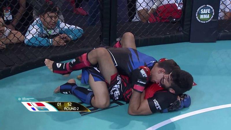 Mohammed Almuamari (BAH) x Dastan Zhakypbekov (KAZ) - World championship Amature MMA 14/11/2017