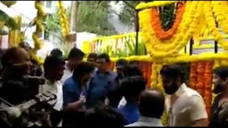 Sree Vishnus new film with director Krishna Vijay is formally launched